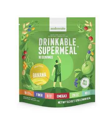 Ambronite Drinkable Supermeal Banana