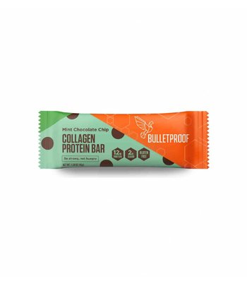 Bulletproof Protein Bars Mint Chocolate Chip