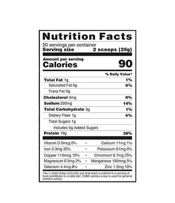 Nuzest Clean Lean Protein Chai, Turmeric + Maca
