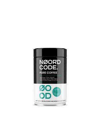 NoordCode Pure Coffee Light Roast Ground 250g