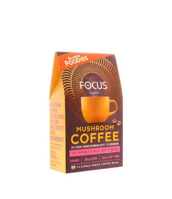Superfoodies Mushroom Coffee Focus