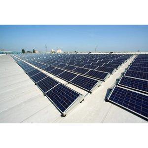 Compleet solar installatiepakket voor een plat dak