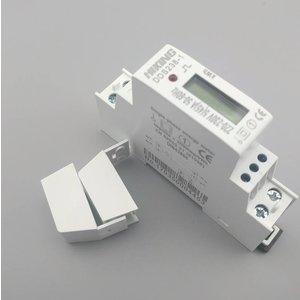 kWh-meter voor DIN rail - 2000 imp/kWh