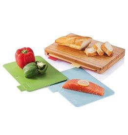 Keukenspullen relatiegeschenk Trendy hygiënische snijplanken set P261.219