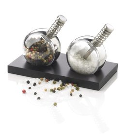 Peper en zoutmolens Planet peper & zout set P262.34