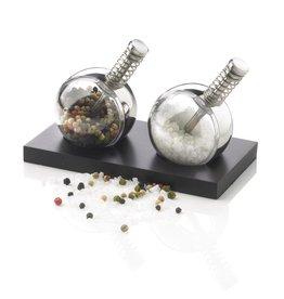 Peper en zoutmolens relatiegeschenk Planet peper & zout set P262.340