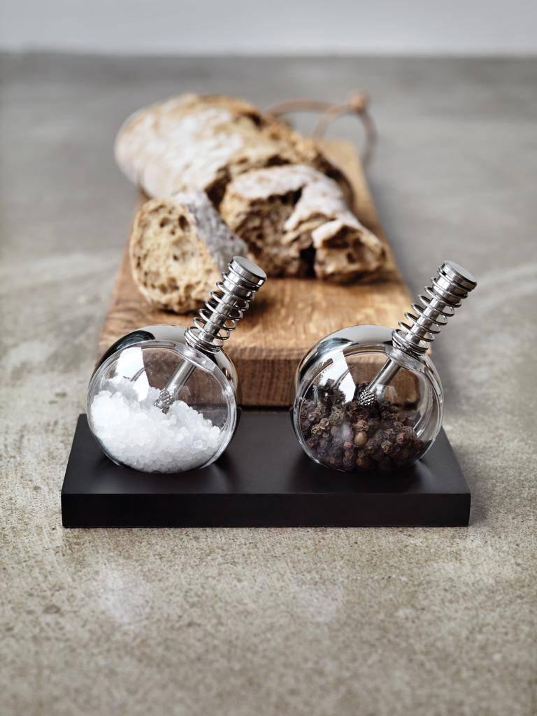 Peper en zoutmolens bedrukken Planet peper & zout set P262.34
