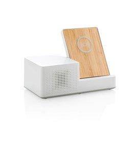 Computer gadgets bedrukken Ontario draadloze oplader met speaker P308.87