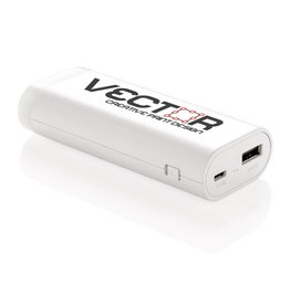 Powerbank bedrukken Lighthouse Powerbank 5.000 mAh P324.24