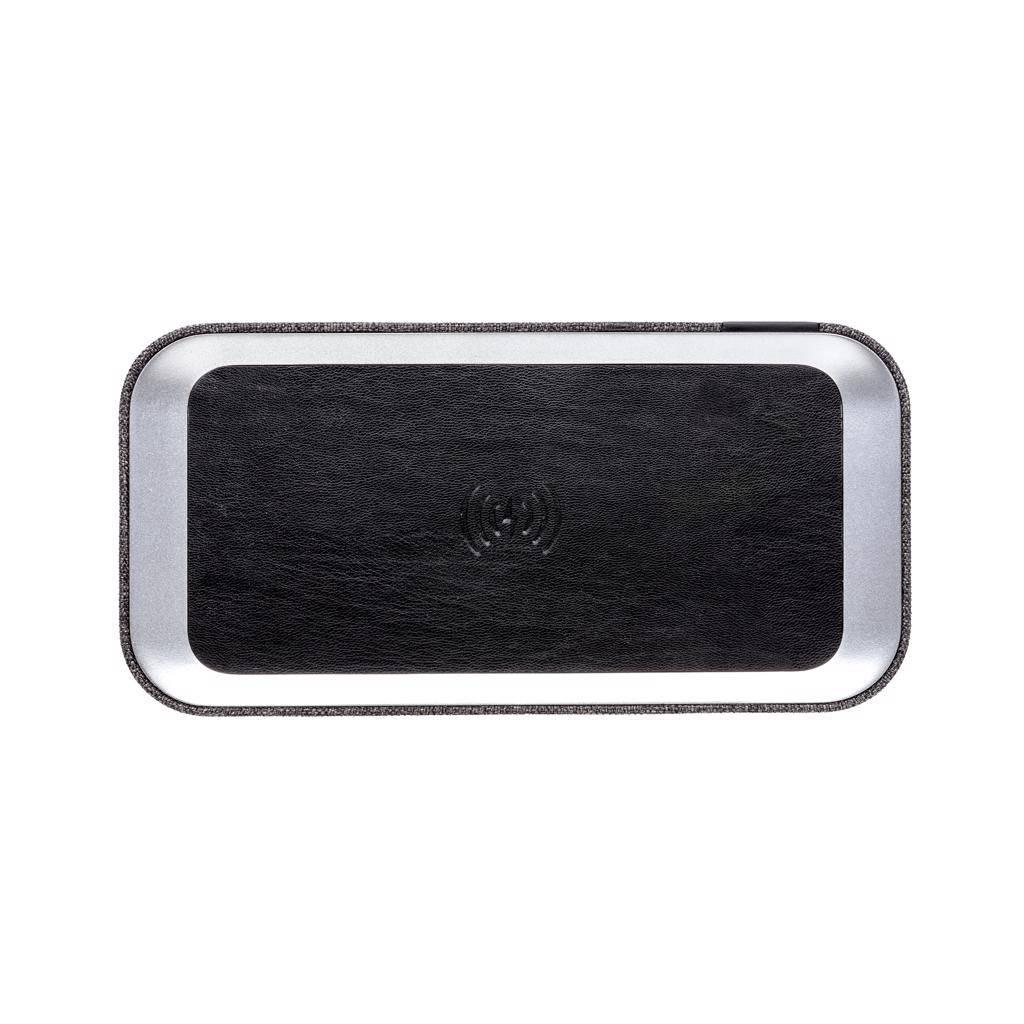 Luidsprekers bedrukken Vogue speaker met 5W draadloze oplader P328.07