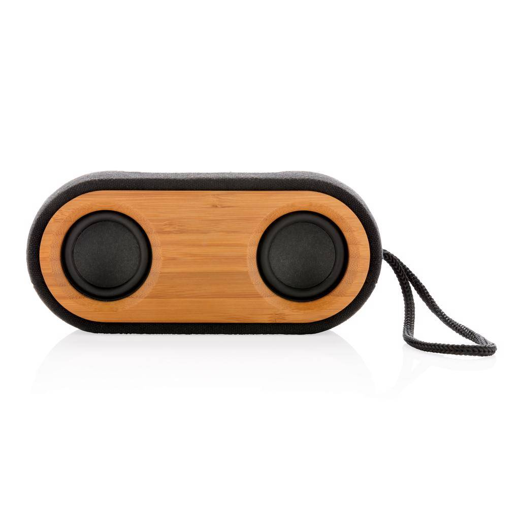 Luidsprekers bedrukken Bamboo X dubbele speaker P328.11