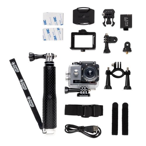 Sportartikelen bedrukken Action camera set P330.20