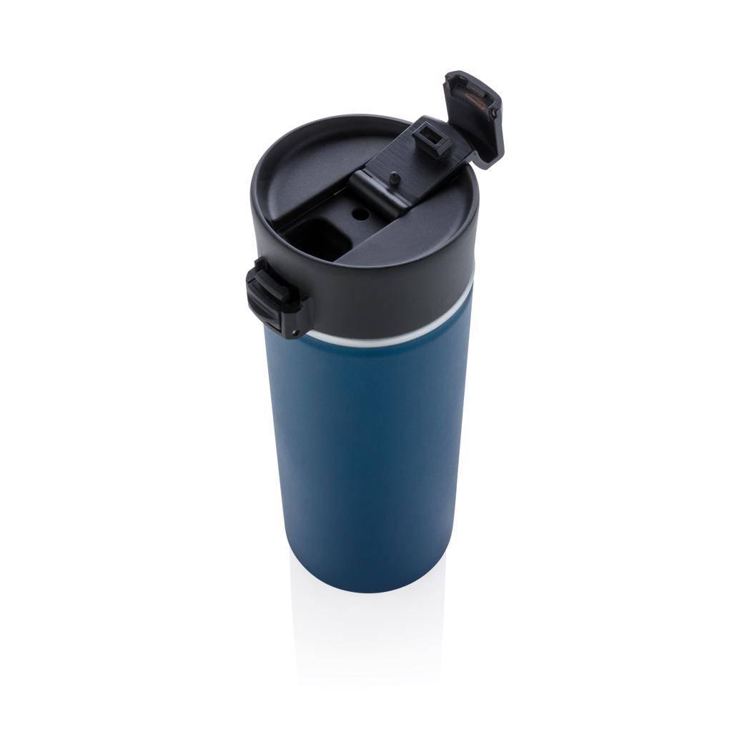 Thermosbeker bedrukken Bogota vacuüm koffiemok met keramiek coating P432.23