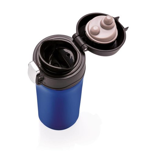 Thermo mok bedrukken Easy lock lekvrije vacuum mok P432.65