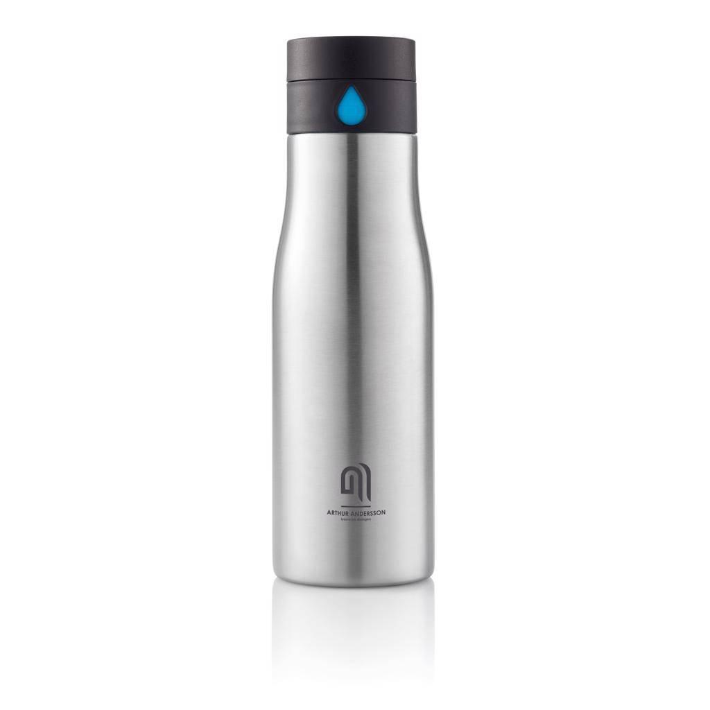 Waterflessen bedrukken Aqua hydratatie RVS fles P436.88