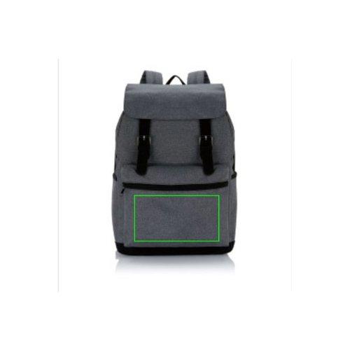Laptoptassen bedrukken Laptop rugtas met magnetische gesp P706.14