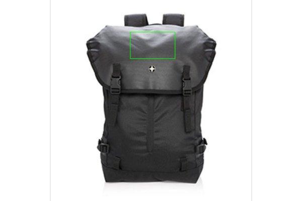 """Laptoptassen bedrukken 17"""" outdoor laptop rugtas P762.10"""