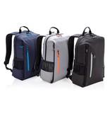 """RFID Relatiegeschenk  bedrukken Lima 15"""" laptop rugzak met RFID & USB P762.40"""