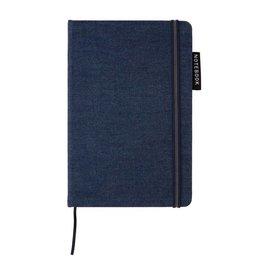 Notitieboekje bedrukken Deluxe A5 denim notitieboek P772.02
