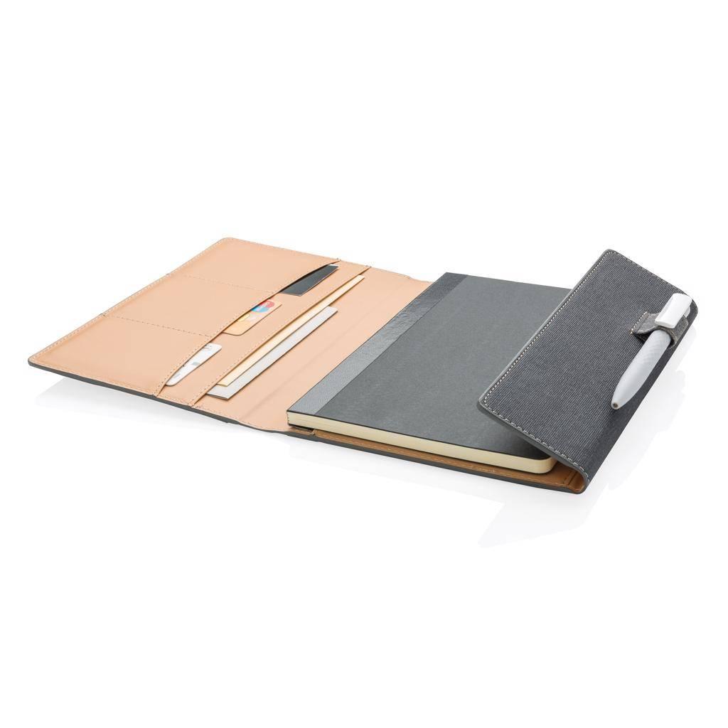 Notitieboekjes bedrukken A5 Deluxe design notitieboek omslag P773.08