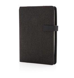 Notitieboekjes bedrukken Kyoto A5 notitieboek omslag met organiser P773.19