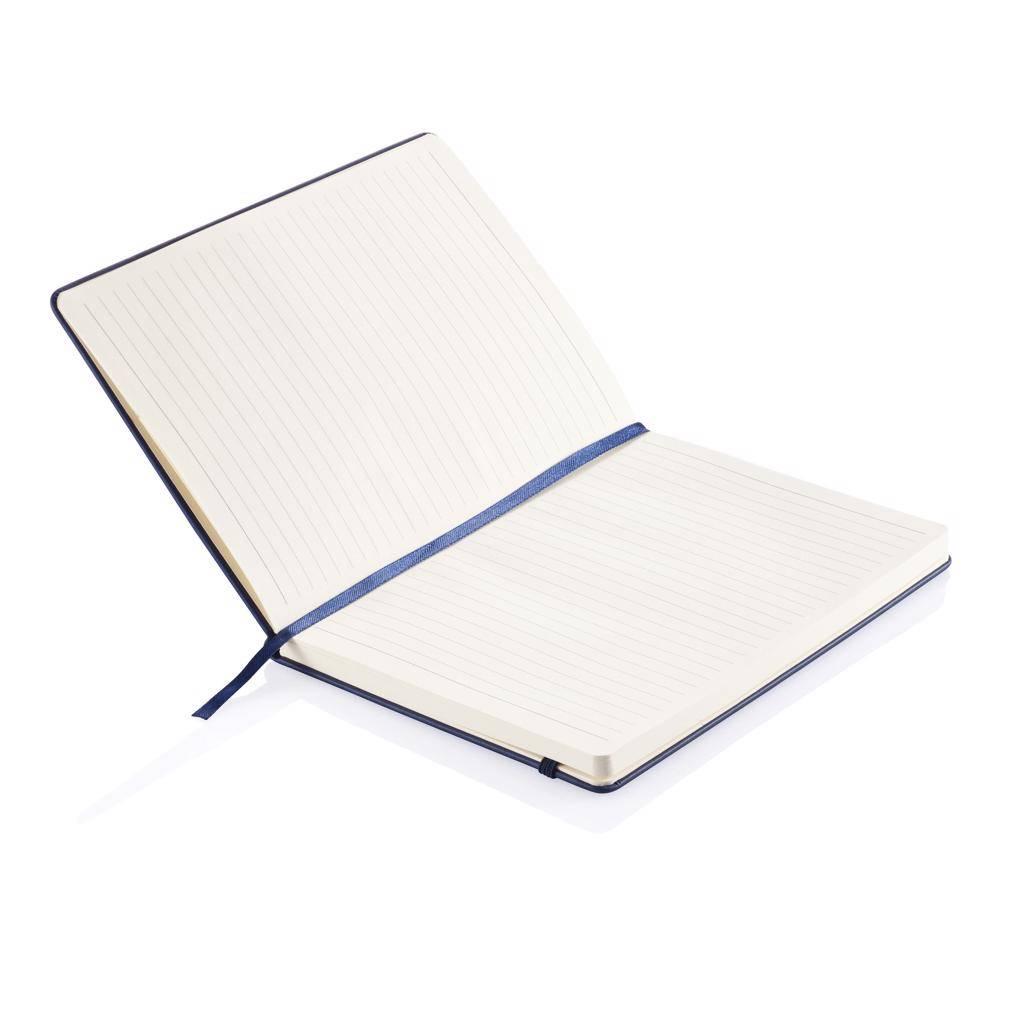 Notitieboekjes bedrukken Deluxe hardcover PU A5 notitieboek P773.42
