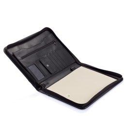 Schrijfmappen bedrukken Essential zipper portfolio P773.62