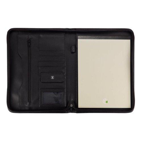Schrijfmappen bedrukken Essential zipper portfolio P773.621