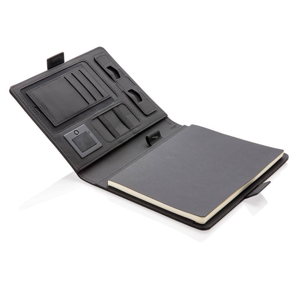 Notitieboekje bedrukken Air draadloos oplader notitieboek omslag A5 P773.87