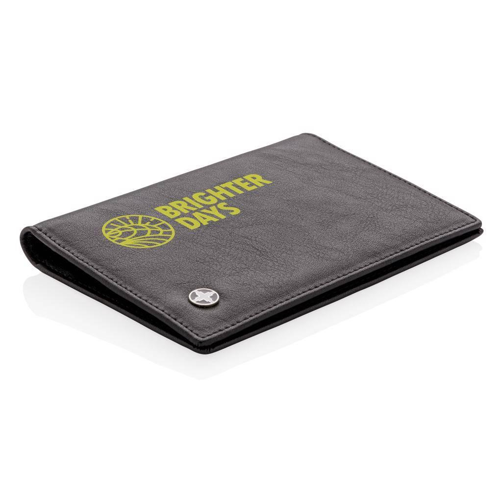 RFID Relatiegeschenk  bedrukken RFID anti-skimming paspoort houder P820.43
