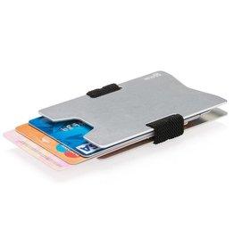 RFID Relatiegeschenk Aluminium RFID anti-skimming creditcard houder P820.46