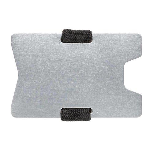 RFID Relatiegeschenk  bedrukken Aluminium RFID anti-skimming creditcard houder P820.461