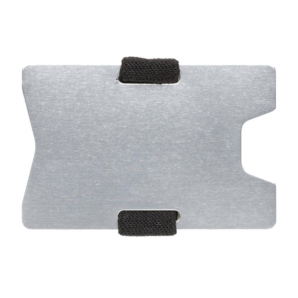 RFID Relatiegeschenk  bedrukken Aluminium RFID anti-skimming creditcard houder P820.46