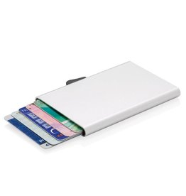 RFID Relatiegeschenk C-Secure aluminium RFID kaarthouder P820.49