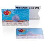 RFID Relatiegeschenk  bedrukken Anti-skimming beschermkaart P820.52
