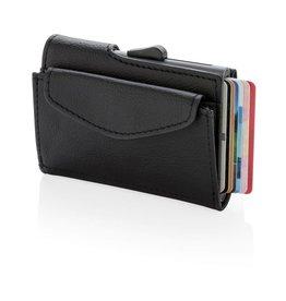 RFID Relatiegeschenk C-Secure RFID kaarthouder & portemonnee met muntvakje P820.61