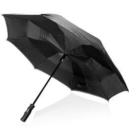 "Stormparaplu bedrukken Swiss Peak 23"" auto open reversible paraplu P850.16"