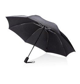"Opvouwbare paraplu bedrukken Swiss Peak 23"" opvouwbare reversible auto open/sluit paraplu P850.19"