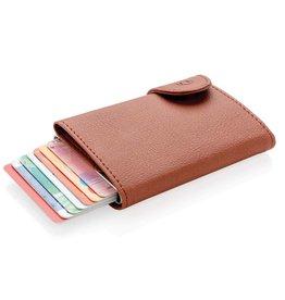 RFID Relatiegeschenk C-Secure aluminium RFID kaarthouder & portemonnee P850.51