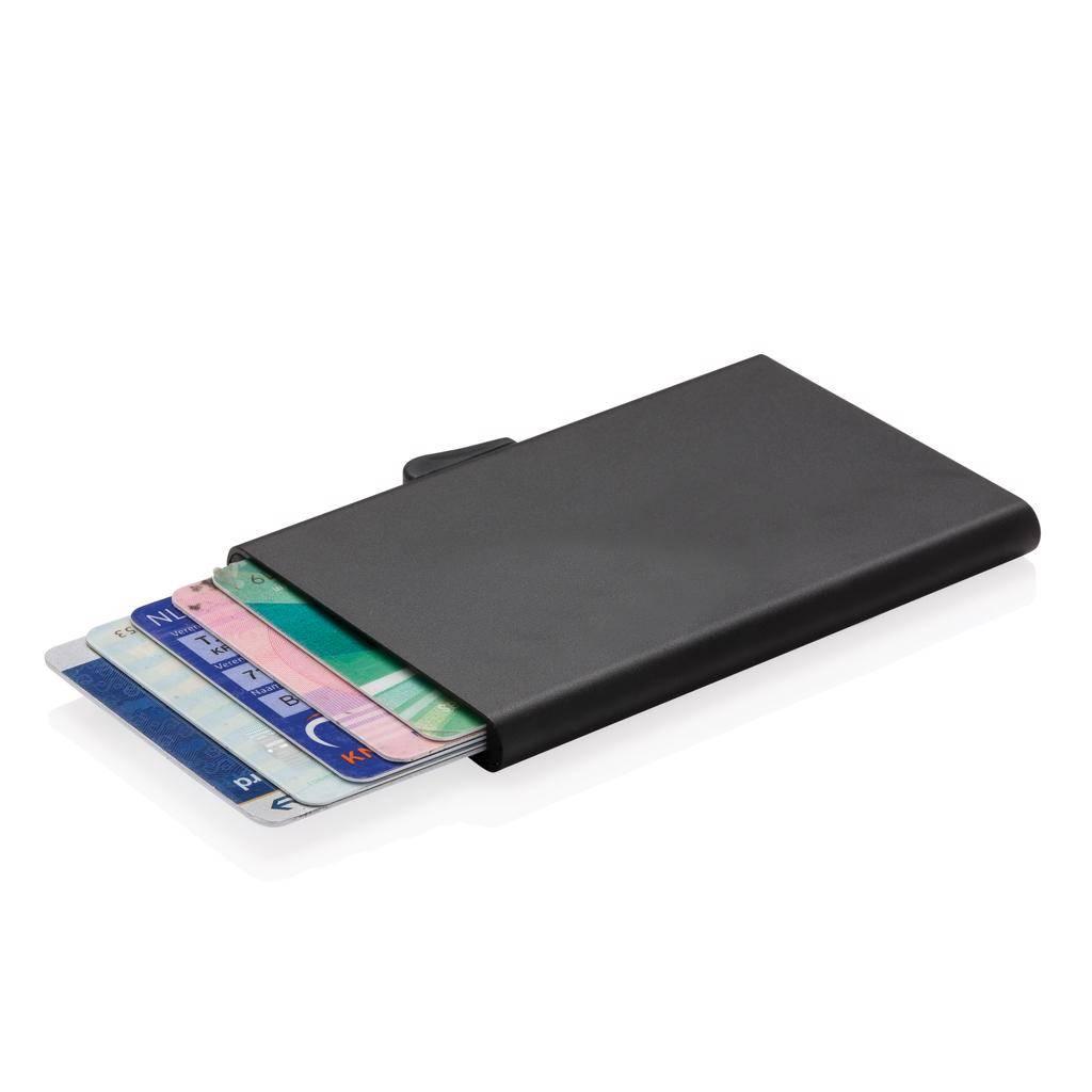 RFID Relatiegeschenk  bedrukken C-Secure aluminium RFID kaarthouder P820.49