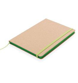 Notitieboekjes bedrukken Eco-vriendelijk A5 kraft notitieboek P773.95