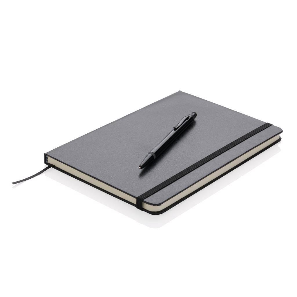 Powerbank bedrukken A5 hardcover notitieboek met touchscreen pen P773.25
