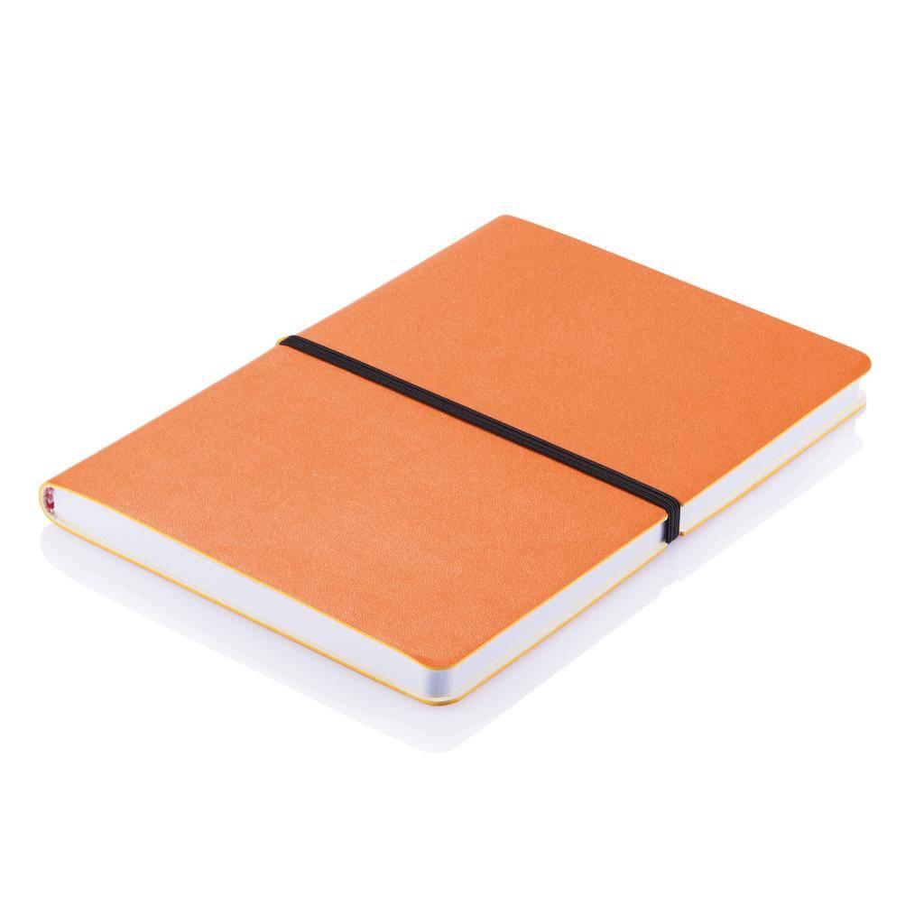 Notitieboekjes bedrukken Deluxe softcover A5 notitieboek P773.02