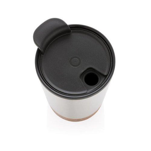 Thermosbeker bedrukken als relatiegeschenk Kurk koffiebeker P432.77
