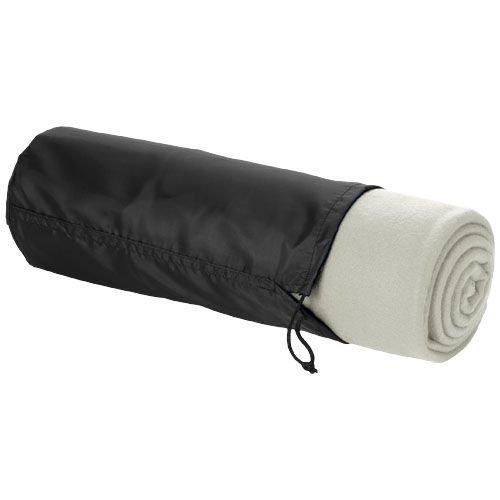 Fleece dekens relatiegeschenk Huggy deken met hoes
