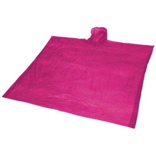 Regen- windjassen bedrukken Ziva wegwerp regenponcho met opbergtasje 10042900