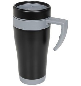Thermosbeker bedrukken Cayo 400 ml geïsoleerde mok