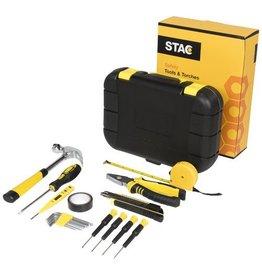 Tools relatiegeschenk Sounion 16 delige gereedschapskist