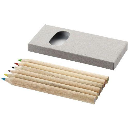 Kleurpotlood bedrukken 6 Delige potlodenset 10621900