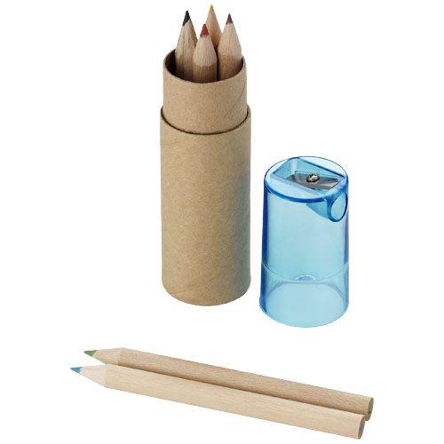 Kleurpotlood bedrukken 7 Delig potlodenset 10622000